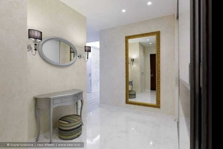 Квартира с террасой «Черное золото»: Коридор и прихожая в . Автор – Ольга Кулекина - New Interior
