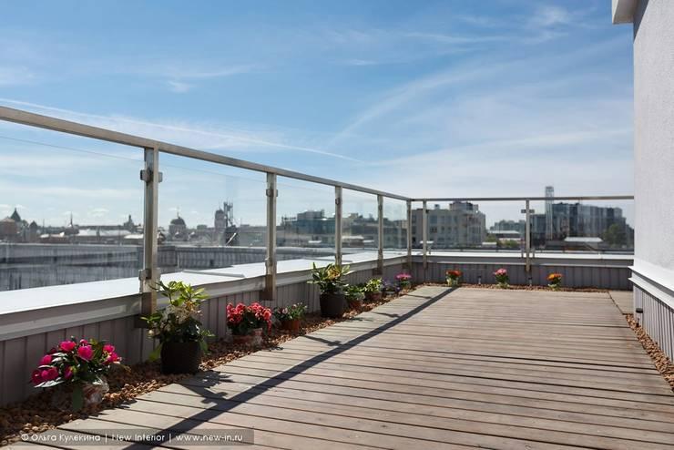 Balcones y terrazas escandinavas de Ольга Кулекина - New Interior Escandinavo