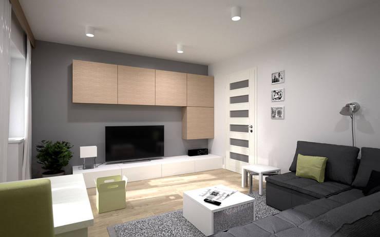 wizualizacja mieszkania – WROCŁAW: styl , w kategorii  zaprojektowany przez renderPLAN