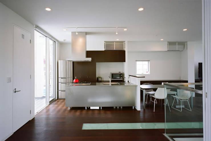 キッチン: atelier mが手掛けたキッチンです。