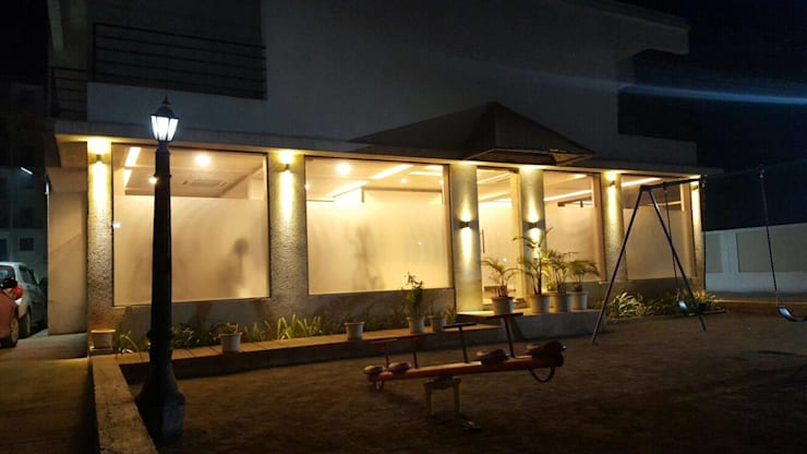 My New Design of Gym In Navi Mumbai :  Commercial Spaces by Alaya D'decor