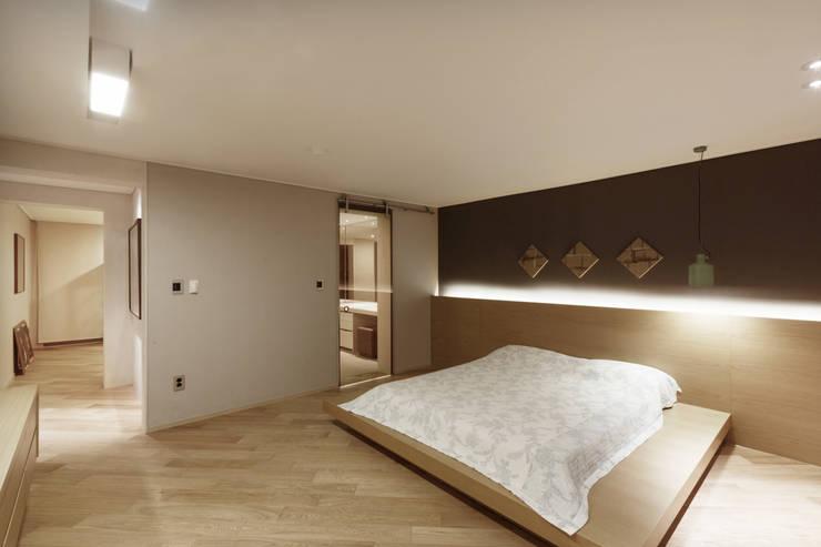 잠원동 롯데캐슬 : Qua.D의  침실