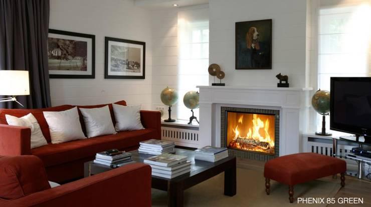 modern Living room by Biojaq - Comércio e Distribuição de Recuperadores de Calor Lda