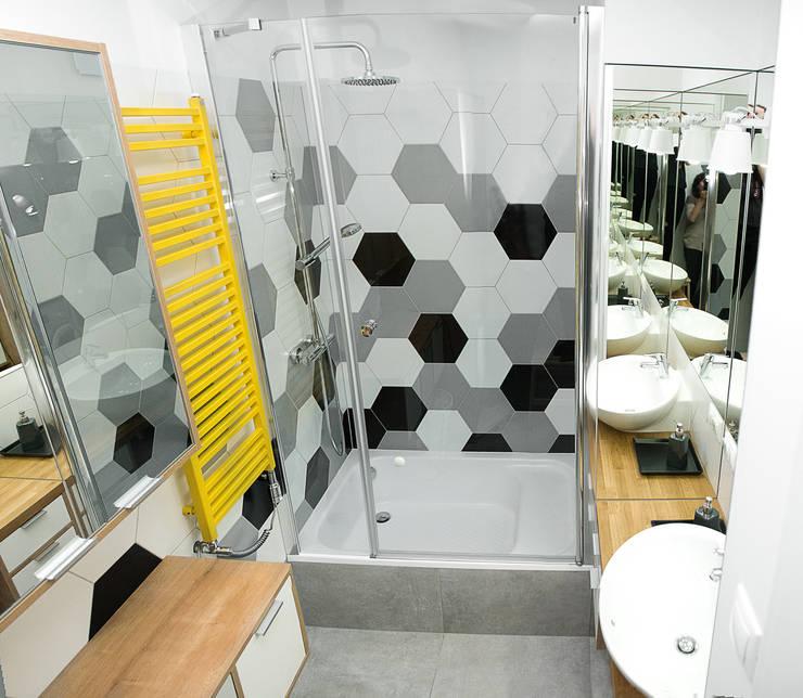 Panorama łazienki: styl , w kategorii  zaprojektowany przez DoMilimetra