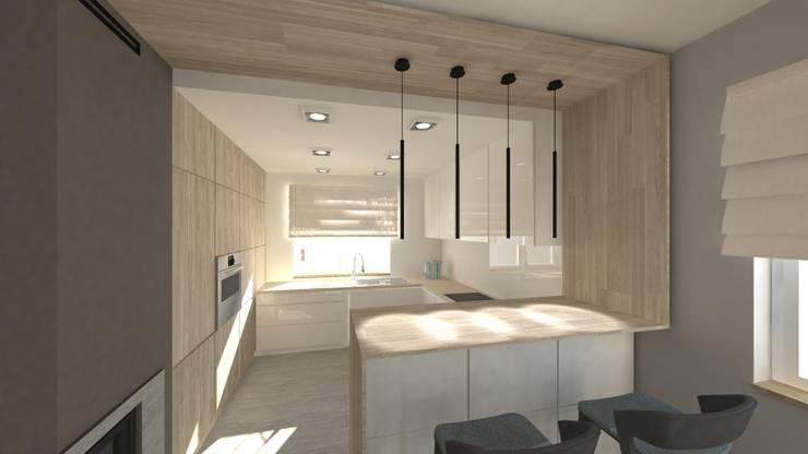 Kuchnia: styl , w kategorii Kuchnia zaprojektowany przez Gil Architekci