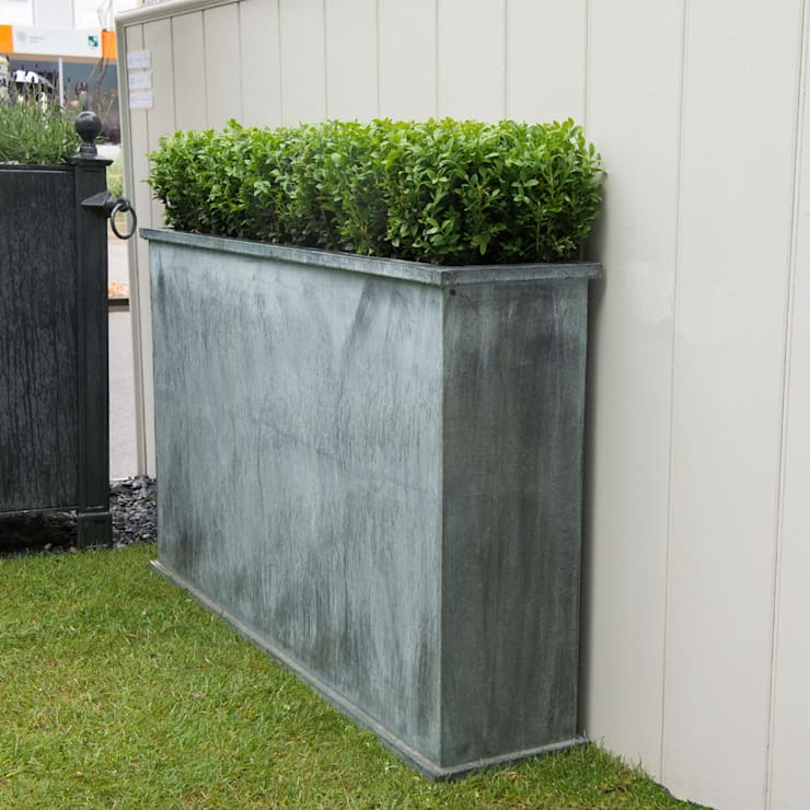 Turin Tall Trough:  Garden  by A Place In The Garden Ltd.