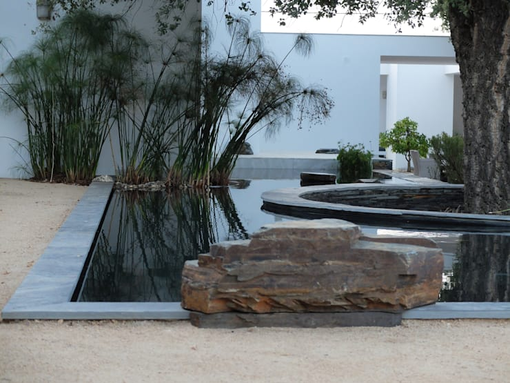 Pormenor: Jardins  por Atelier Jardins do Sul,