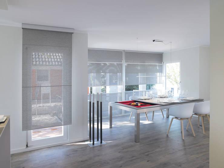Projekty,  Jadalnia zaprojektowane przez Fusion Tables