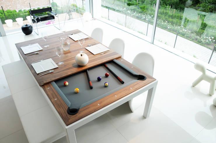 Projekty,  Balkon, weranda i taras zaprojektowane przez Fusion Tables