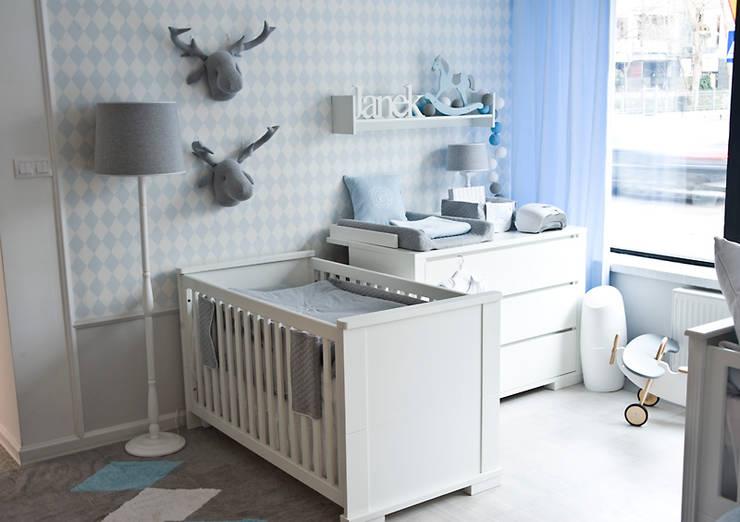 Design for a baby boy age 0-3.: styl , w kategorii Powierzchnie handlowe zaprojektowany przez Caramella