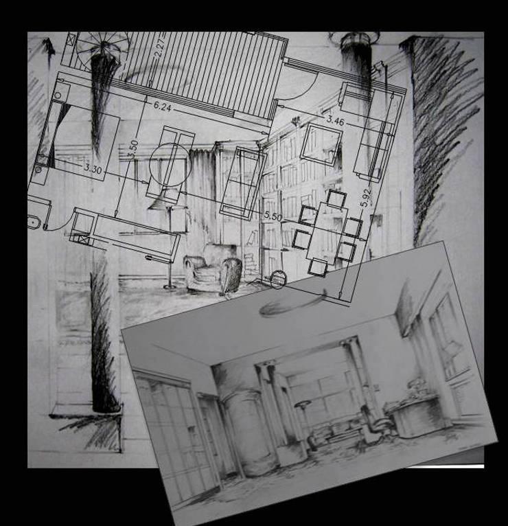 Proyectos e imagenes Salones clásicos de consultarqui Clásico