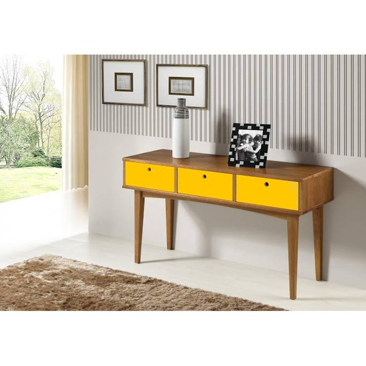 Aparador Vintage com 3 Gaveta - Maxima Móveis: Sala de estar  por JEB MOVEIS