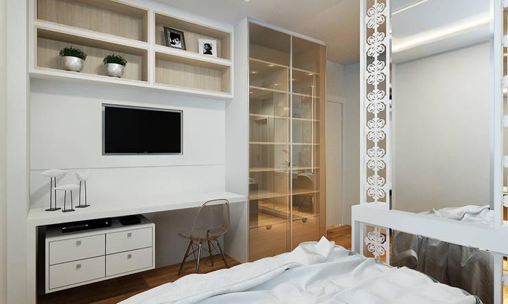 SUÍTE MENINA ♥ : Banheiros clássicos por Eliegi Ambrosi Arquitetura e Design de Interiores