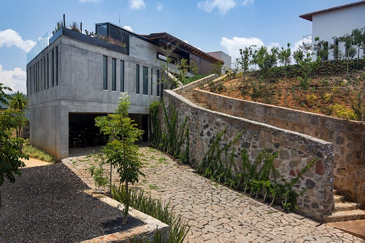 country Houses by BURO ARQUITECTURA