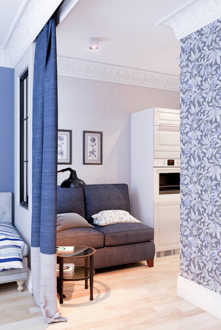 Deep Blue: Столовые комнаты в . Автор – Marina Sarkisyan, Эклектичный