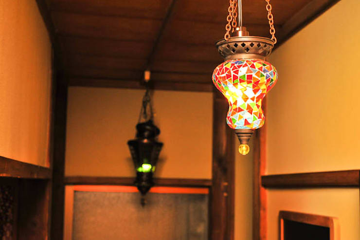 エスニックと古民家: 灯和屋(株式会社シェアスタイル)が手掛けたです。