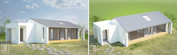 두상자 집 : 로움 건축과 디자인 의 현대 ,모던