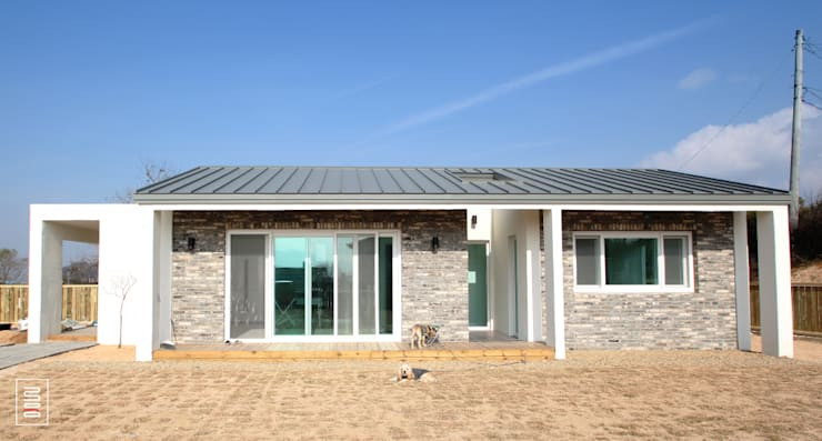 房子 by 로움 건축과 디자인