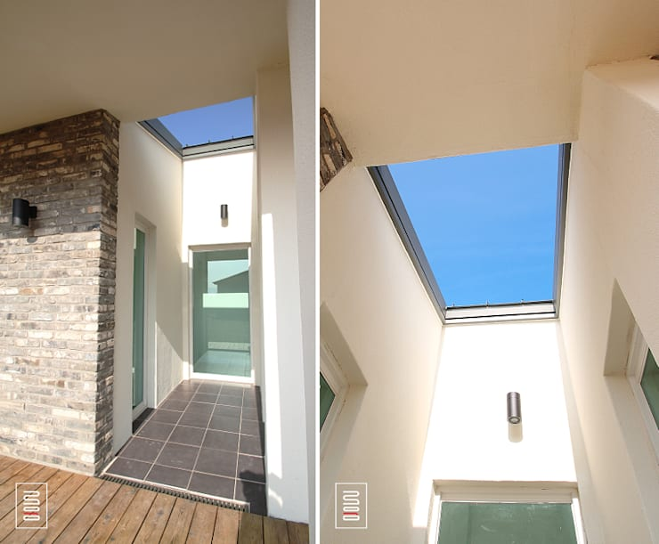 두상자 집 : 로움 건축과 디자인 의  주택