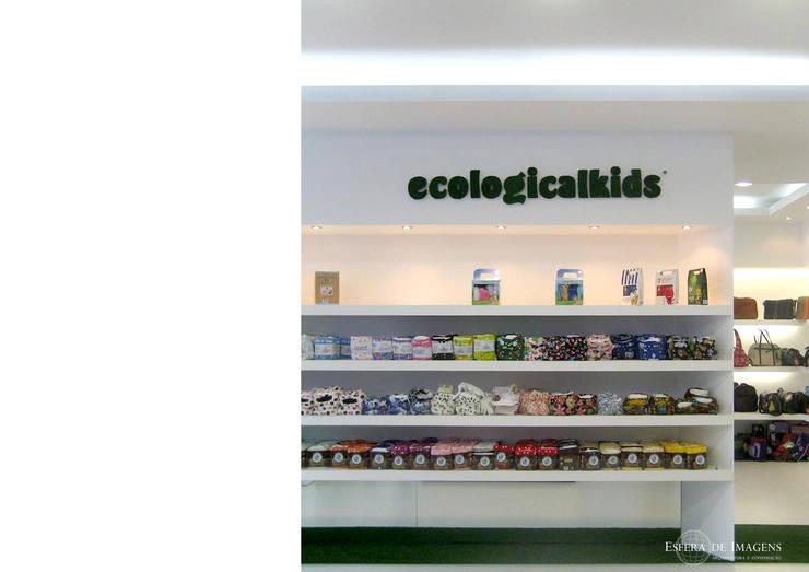 Ecologicalkids Lisboa - Parque das Nações: projecto de arquitectura, criação da imagem e execução da obra:   por Esfera de Imagens Lda