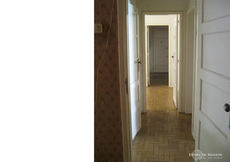 Remodelação de apartamento no Bairro de Alvalade - antes da intervenção:   por Esfera de Imagens Lda