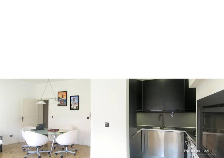 Remodelação de apartamento no Bairro de Alvalade:   por Esfera de Imagens Lda