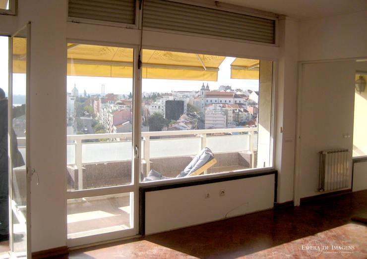 Remodelação de apartamento no Rato - antes da intervenção:   por Esfera de Imagens Lda