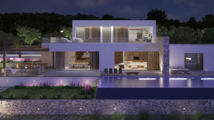 Projekty,  Domy zaprojektowane przez Atlant de Vent