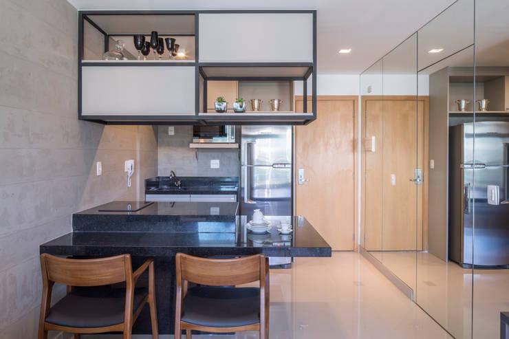Projekty,  Kuchnia zaprojektowane przez Carpaneda & Nasr