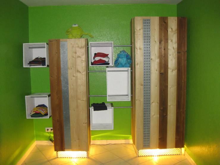de estilo industrial por Thibaut Defrance - Cabestan, Industrial Madera Acabado en madera