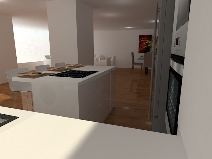 Kitchen by ARCE FLORIDA, Modern Wood Wood effect
