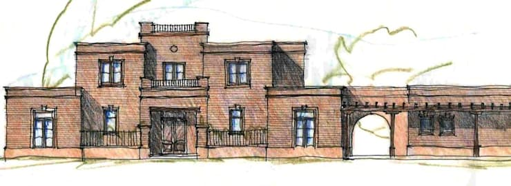 Casa Dodero:  de estilo  por Aulet & Yaregui Arquitectos,Moderno