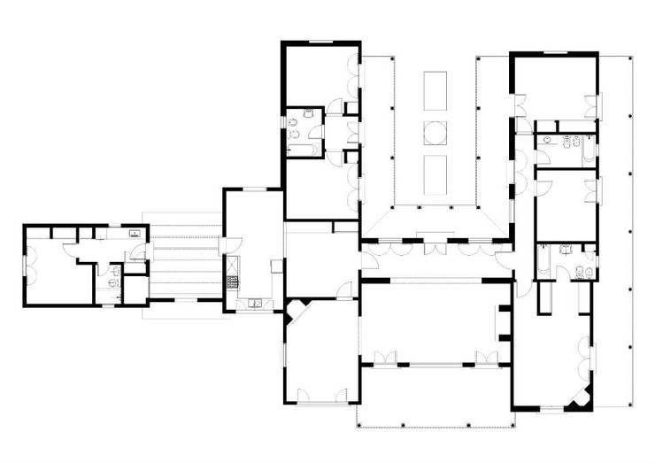 Loo Mapu:  de estilo  por Aulet & Yaregui Arquitectos