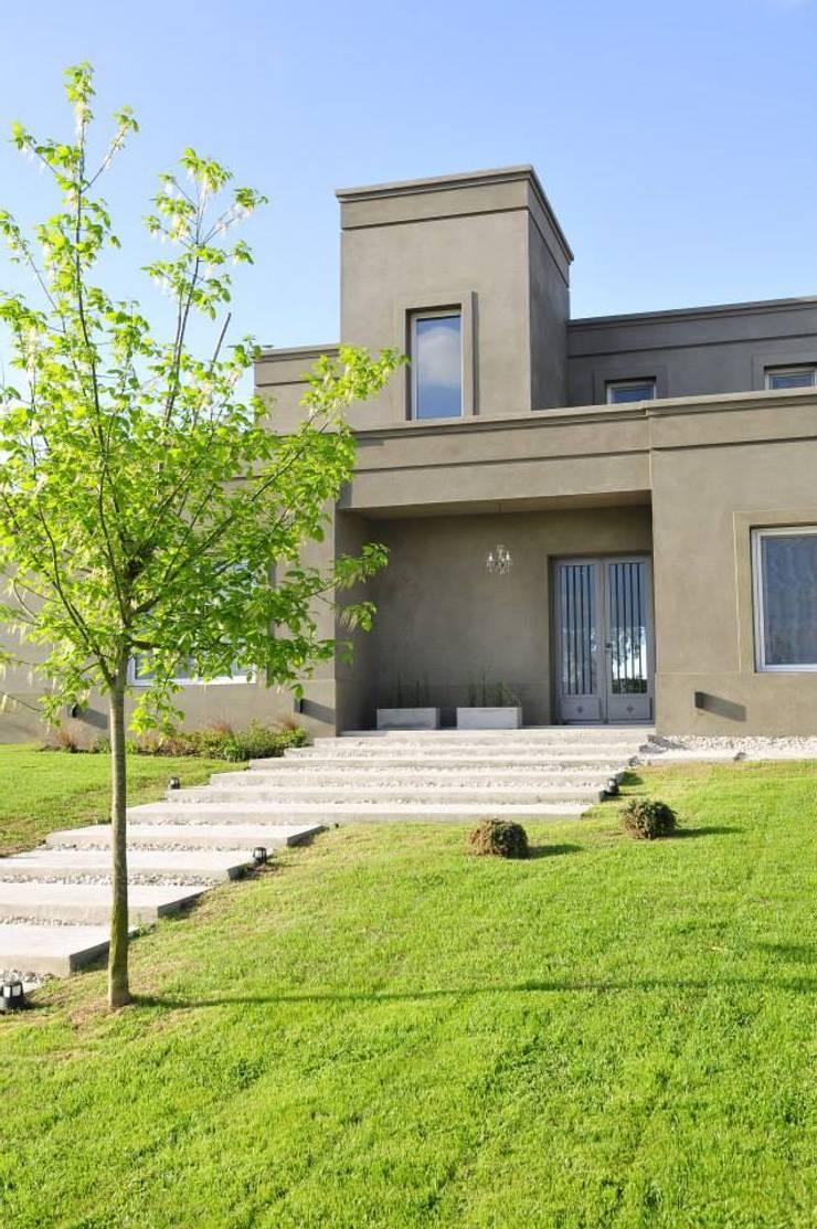 Casa en Pilará: Casas de estilo  por Aulet & Yaregui Arquitectos,
