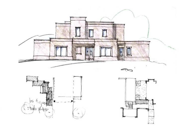 Casa en Pilará:  de estilo  por Aulet & Yaregui Arquitectos,
