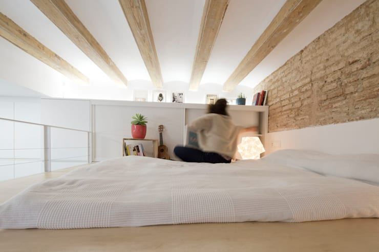 MMMU Arquitectura i Dissenyが手掛けた寝室