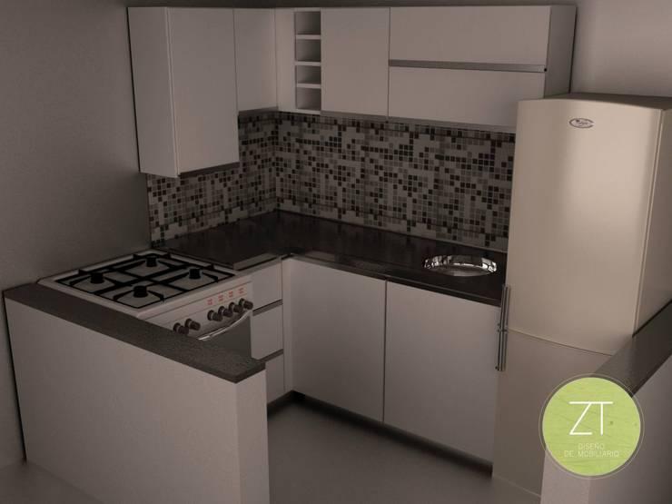 Trabajos de diseño en 3D:  de estilo  por ZT . Diseño de mobiliario,