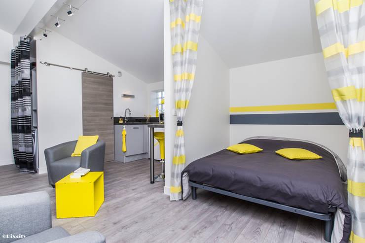 غرفة نوم تنفيذ Pixcity
