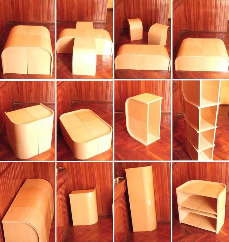 Guillerme: Livings de estilo  por ZT . Diseño de mobiliario,