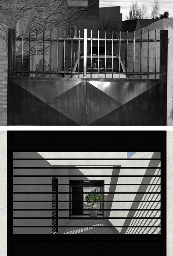 Reforma Casa NR:  de estilo  por mhmarquitectura,