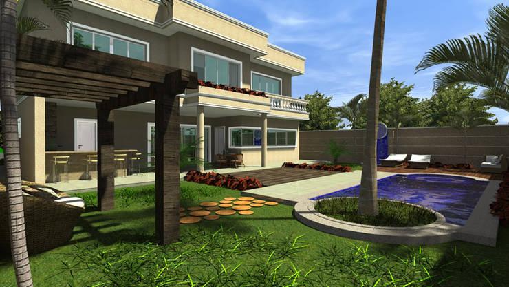 Projeto: Casas  por Caio Pelisson - Arquitetura e Design