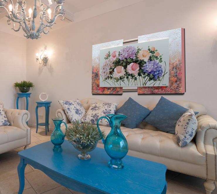 Projeto: Salas de estar modernas por AtelierValverde