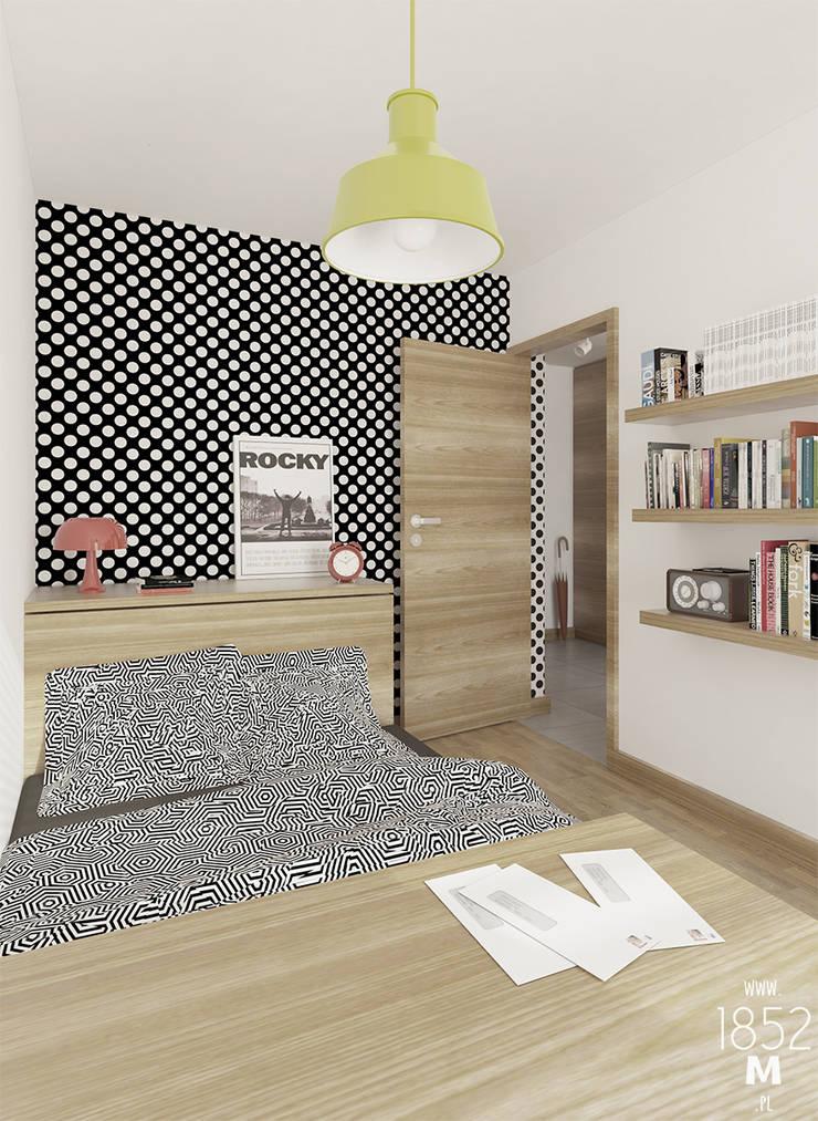 MIESZKANIE DLA MŁODYCH: styl , w kategorii Sypialnia zaprojektowany przez 1852M