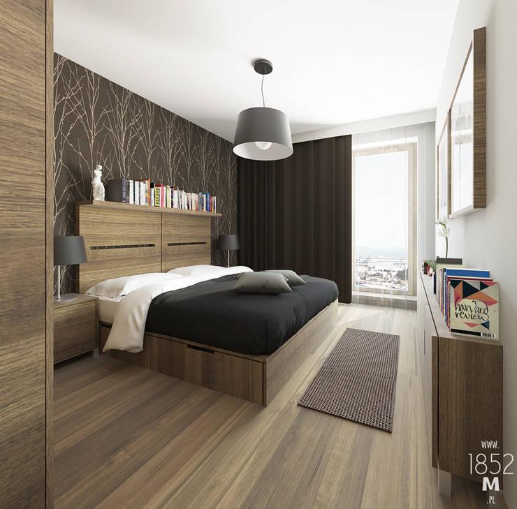MIESZKANIE DOJRZAŁE: styl , w kategorii Sypialnia zaprojektowany przez 1852M,