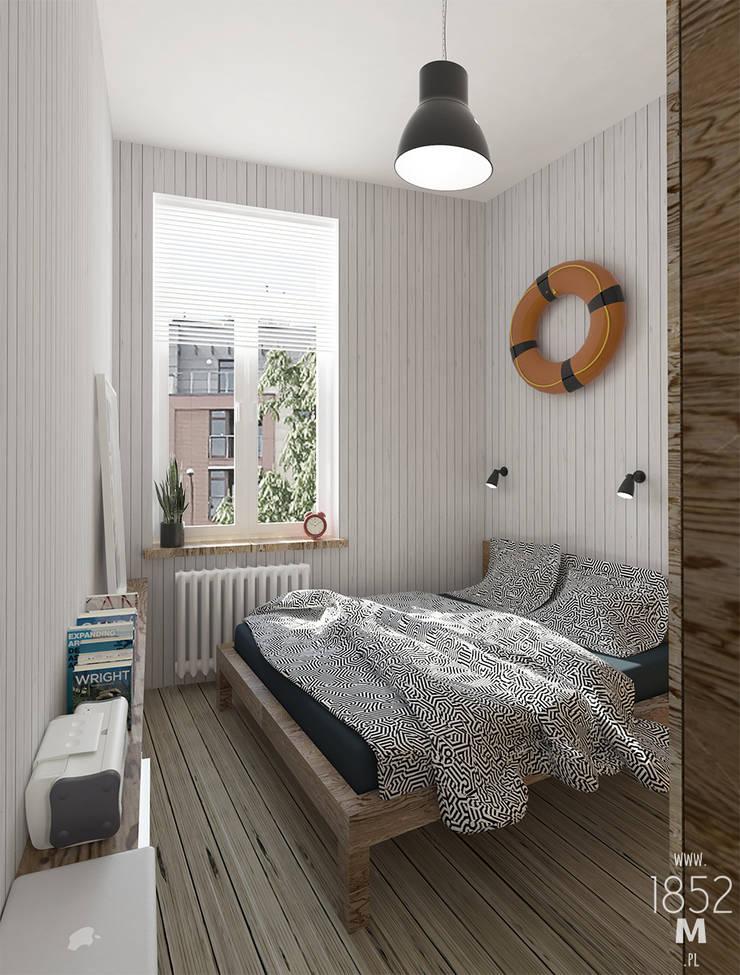 MIESZKANIE MARYNISTYCZNE: styl , w kategorii Sypialnia zaprojektowany przez 1852M