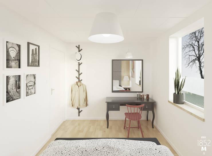 DOM W OSTERSUND: styl , w kategorii Sypialnia zaprojektowany przez 1852M