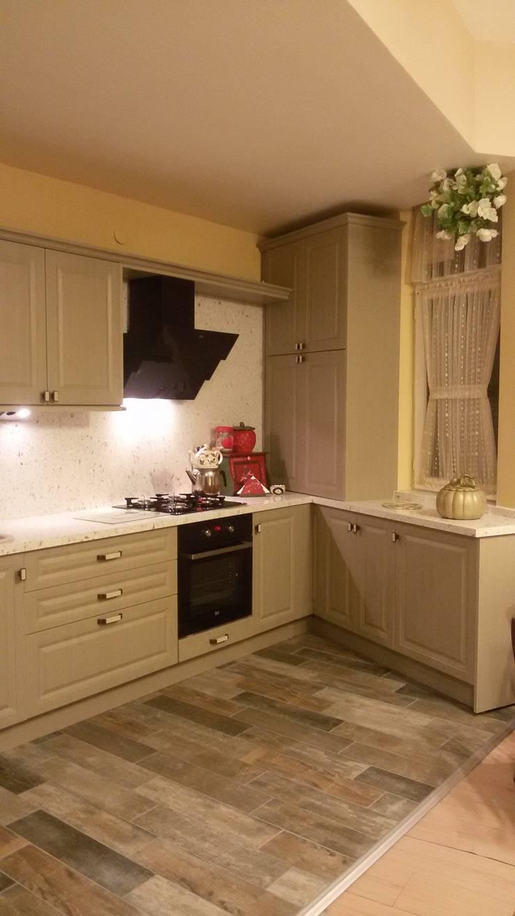 Vizyon Mimarlık ve Dekorasyon – S.A. Evi:  tarz Mutfak