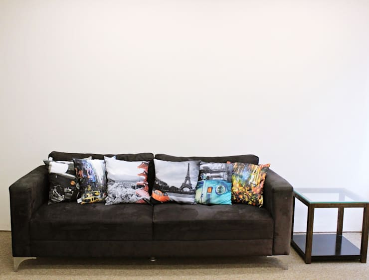 Sala de convivência após reforma. por É! Arquitetura e Design Minimalista MDF