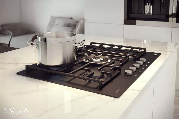 Eclectic kitchen / Kuchnia eklektyczna: styl , w kategorii Kuchnia zaprojektowany przez Kola Studio Architectural Visualisation,Eklektyczny