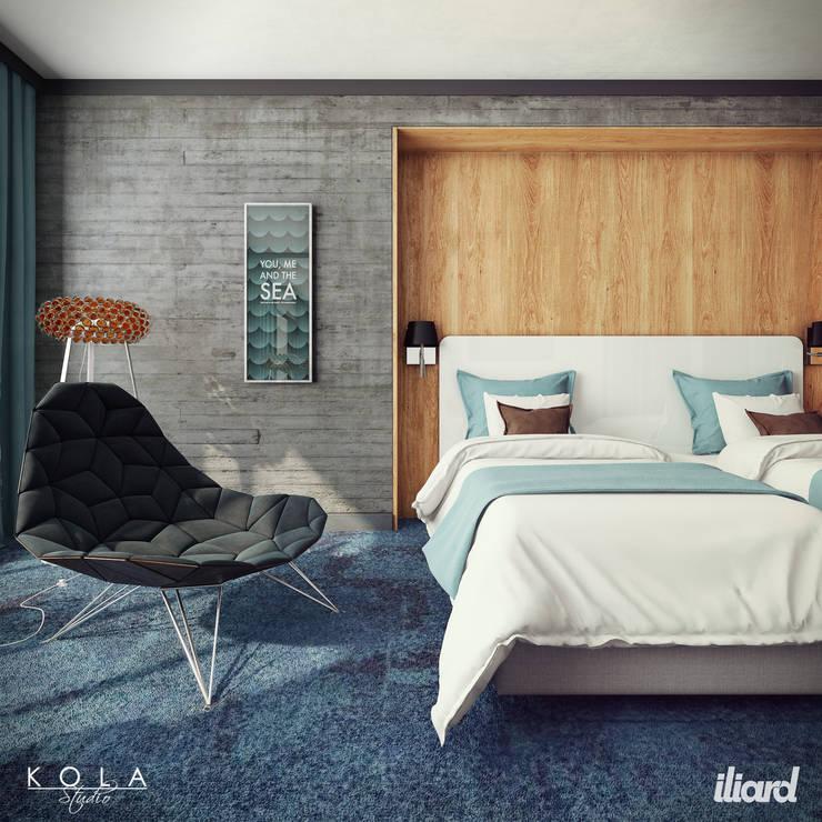 Small room: styl , w kategorii  zaprojektowany przez Kola Studio Architectural Visualisation